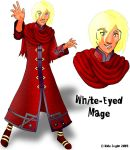 White-Eyed Mage: Concept Art by Cei-Ellem