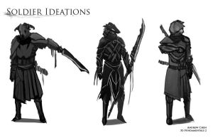 Bound Soldier Ideations by Vaig