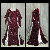 Costume- Red Court Gown by MulchMedia