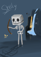 Skelly by Maria-Ben