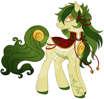 [Solutai Pony Advent] Day 7 - Holly Wreath by tinuleaf
