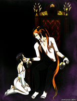 Pein x Ita Hades COMMISSION by DKSTUDIOS05
