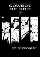 BE A PART OF A COWBOY BEBOP ART ZINE FOR CHARITY! by OLYJNS