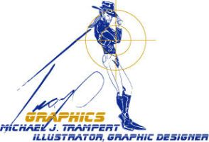 Tramp Graphics logo color by Tramp-Graphics