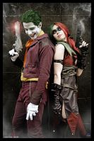 The Joker and Harley Quinn-Injustice by JonathanDuran