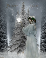 Blessed Yule Animated by magicsart