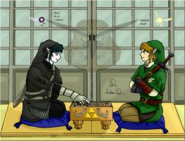 Link Vs. Dark Link: Go! by Nocta-Link