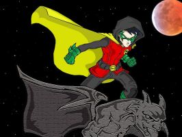 Robin The Boy Wonder painted by juanjosilva