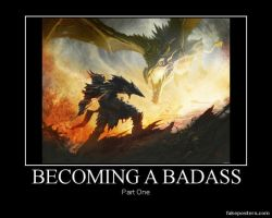 Becoming a badass by LOLMANIC45
