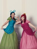 Drizella and Anastasia Tremaine by lavrentiy--And--Co