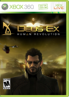 Deus Ex cover 1 by ApertumCodex