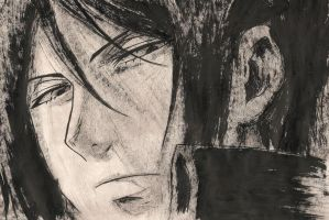 Sebastian Michaelis [INK Portrait] by SprinkleSprankles