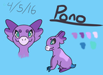 Pono the Wyngro by songbird80880