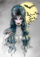 Elvira, Mistress of the Dark by darkodordevic