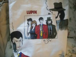 Lupin the Third :: Bag by FallingThroughGlass