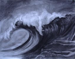 La vague by downthedoomeddawn