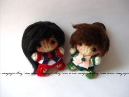 Mars and Jupiter Amigurumi by AnyaZoe