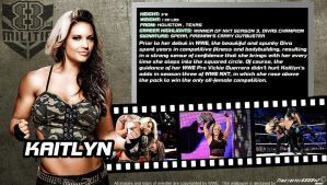 WWE Kaitlyn ID Wallpaper Widescreen V2 by Timetravel6000v2