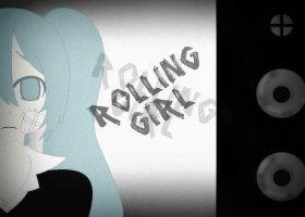 Rolling Girl by IHATELOVEITSUCKS