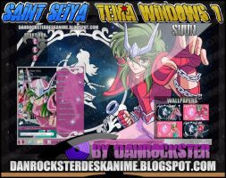 Shun Andromeda Theme Windows 7 by Danrockster