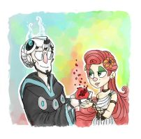 Persephone and Hades by flying-shark