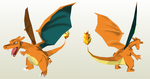 Papercraft - Charizard by Jyxxie