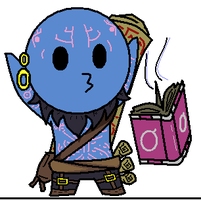 League of Legends Ryze Chibi by sakashiiii
