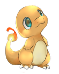 chibi charmander by sevenstardust