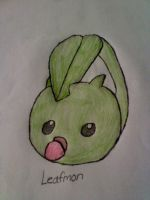 Colored Leafmon by DarkJanet