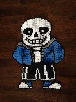 Sans Sprite Perler Beads by UberNerd121