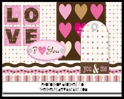 LOVE AND HUGS photoshop brush by Theshelfs