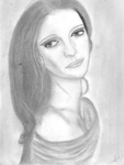Sketch of Woman by Andrzej17