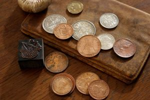 Old English and Dutch Coins by Dewfooter