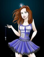 Amy Pond: Did You Wish Really Hard? by Hawkstone