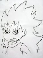 Chibi Gajeel by 19flameprincess