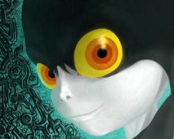 Midna portrait by Ruthac-Arus