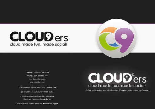 Cloud9ers Brochure by Ma7moudMetwally