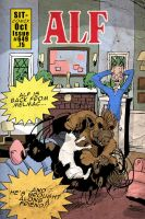 ALF sitcomix by steverinoz