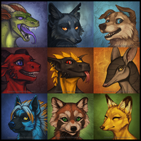 Icons 05 by Shadow-Wolf
