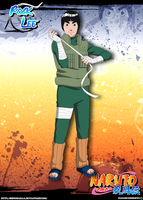 Rock Lee by Shinoharaa
