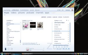 Windows Live Zune by UVSoak3d