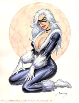 Black Cat pinup by PaulAbrams
