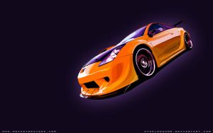 Toyota Celica Vector by steelwagon6