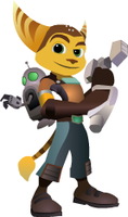Ratchet + Clank - RATCHET 3of3 by Turbocharge0