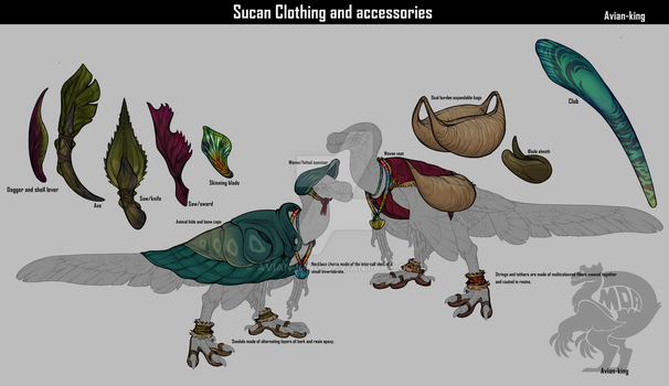 Sucan clothing-accessories by Avian-king