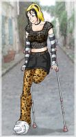 BlackCat crutches by excilion