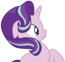 Starlight Glimmer surprised scrunchy face. by CloudyGlow