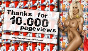10.000 pageviews by LograySon
