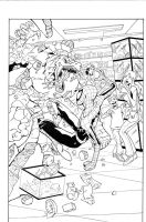 MA Spiderman sample inks pg1 by madman1