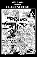 MONSTERS INKS by ricplata